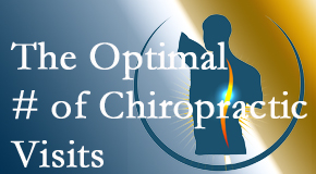 It's up to you and your pain as to how often you see the Manahawkin chiropractor.