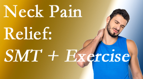 Manahawkin Chiropractic Center offers a pain-relieving treatment plan for neck pain that combines exercise and spinal manipulation with Cox Technic.