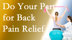 Manahawkin Chiropractic Center invites back pain sufferers to participate in their own back pain relief recovery.