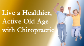 Manahawkin Chiropractic Center invites older patients to incorporate chiropractic into their healthcare plan for pain relief and life's fun.