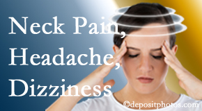 Manahawkin Chiropractic Center helps decrease neck pain and dizziness and related neck muscle issues.