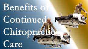 Manahawkin Chiropractic Center presents continued chiropractic care (aka maintenance care) as it is research-documented to be effective.