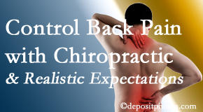 Manahawkin Chiropractic Center helps patients establish realistic goals and find some control of their back pain and neck pain so it doesn't necessarily control them.