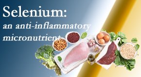 Manahawkin Chiropractic Center shares information on the micronutrient, selenium, and the detrimental effects of its deficiency like inflammation.