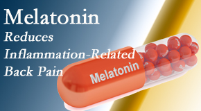Manahawkin Chiropractic Center shares new findings that melatonin interrupts the inflammatory process in disc degeneration that causes back pain.