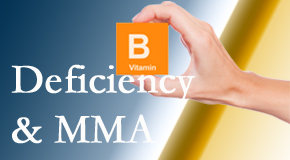 Manahawkin Chiropractic Center points out B vitamin deficiencies and MMA levels may affect the brain and nervous system functions.
