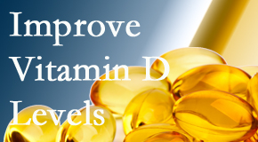 Manahawkin Chiropractic Center explains that it's beneficial to raise vitamin D levels.