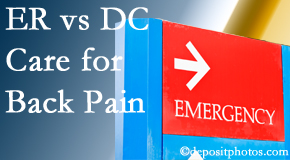 Manahawkin Chiropractic Center welcomes Manahawkin back pain patients to the clinic instead of the emergency room for pain meds whenever possible.