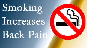 Manahawkin Chiropractic Center explains that smoking intensifies the pain experience especially spine pain and headache.