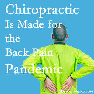 Manahawkin chiropractic care at Manahawkin Chiropractic Center is well-equipped for the pandemic of low back pain.