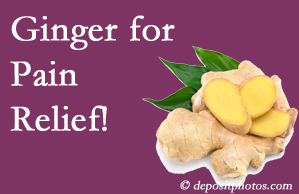 Manahawkin chronic pain and osteoarthritis pain patients will want to check out ginger for its many varied benefits not least of which is pain reduction.
