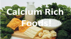 Calcium is important for those with osteoporosis.