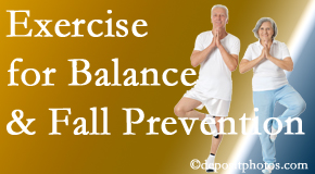 Manahawkin chiropractic care of balance for fall prevention involves stabilizing and proprioceptive exercise.