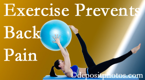 Manahawkin Chiropractic Center suggests Manahawkin back pain prevention with exercise.