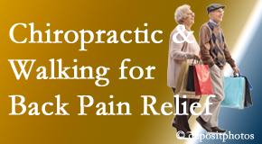 Manahawkin Chiropractic Center encourages walking for back pain relief along with chiropractic treatment to maximize distance walked.