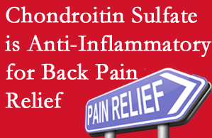 Manahawkin chiropractic treatment plan at Manahawkin Chiropractic Center may well include chondroitin sulfate!