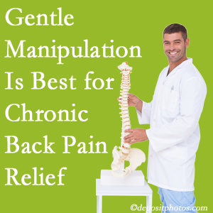 Gentle Manahawkin chiropractic treatment of chronic low back pain is best.
