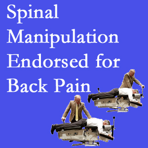 Manahawkin chiropractic care involves spinal manipulation, an effective,  non-invasive, non-drug approach to low back pain relief.