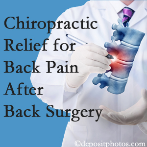 Manahawkin Chiropractic Center offers back pain relief to patients who have already undergone back surgery and still have pain.