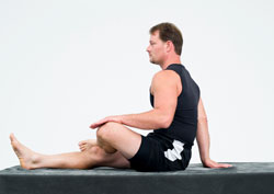 inner thigh stretch alone