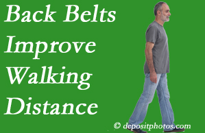 Manahawkin Chiropractic Center sees benefit in recommending back belts to back pain sufferers.