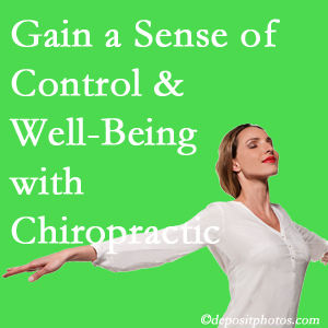 Using Manahawkin chiropractic care as one complementary health alternative improved patients sense of well-being and control of their health.