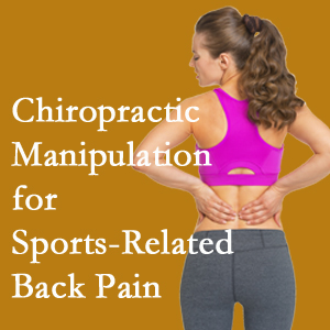 Manahawkin chiropractic manipulation care for common sports injuries are recommended by members of the American Medical Society for Sports Medicine.